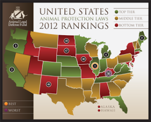 ALDF 2012-state-rankings-map